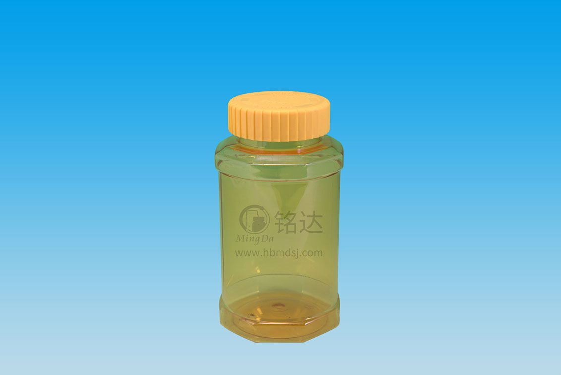 MD-260-PET450cc octagonal bottle