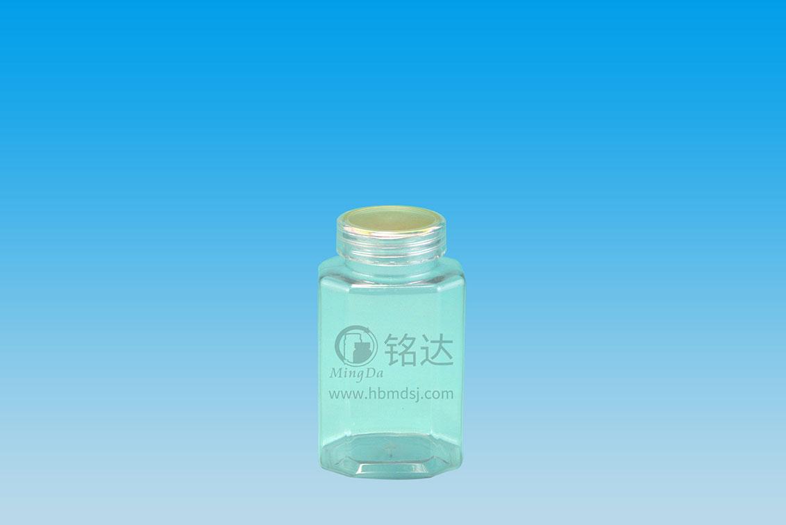 MD-278-PET250cc rectangular octagonal bottle