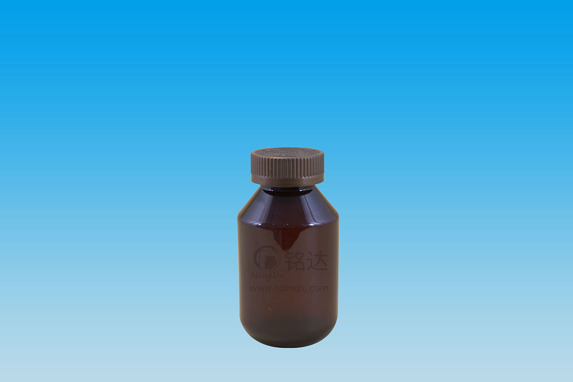 MD-291-PET275cc oblique shoulder round bottle