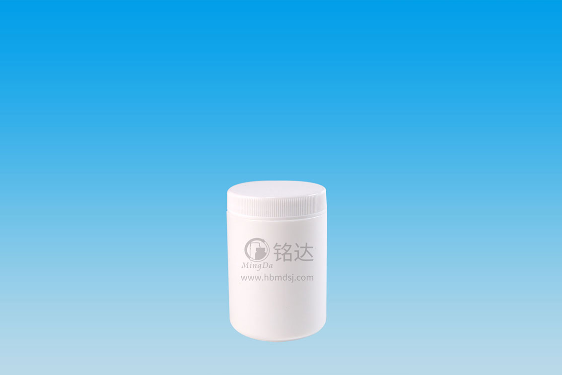 MD-338-HDPE130cc cylindrical bottle