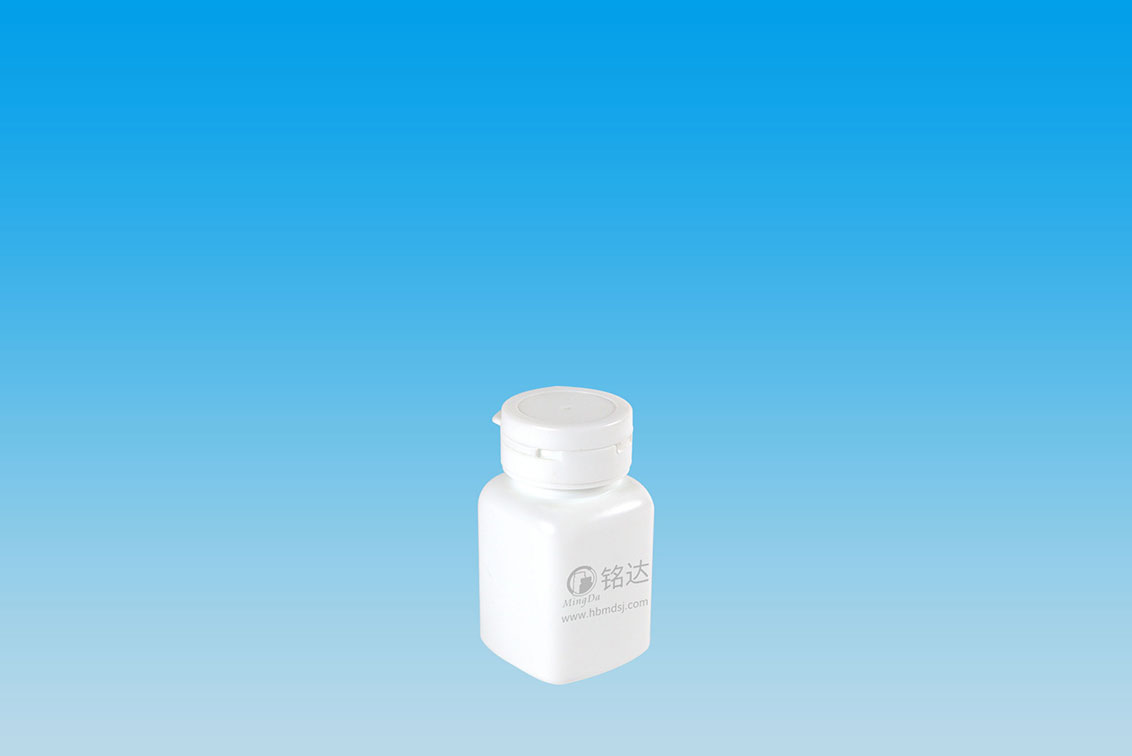 MD-359-HDPE100cc square tearing bottle