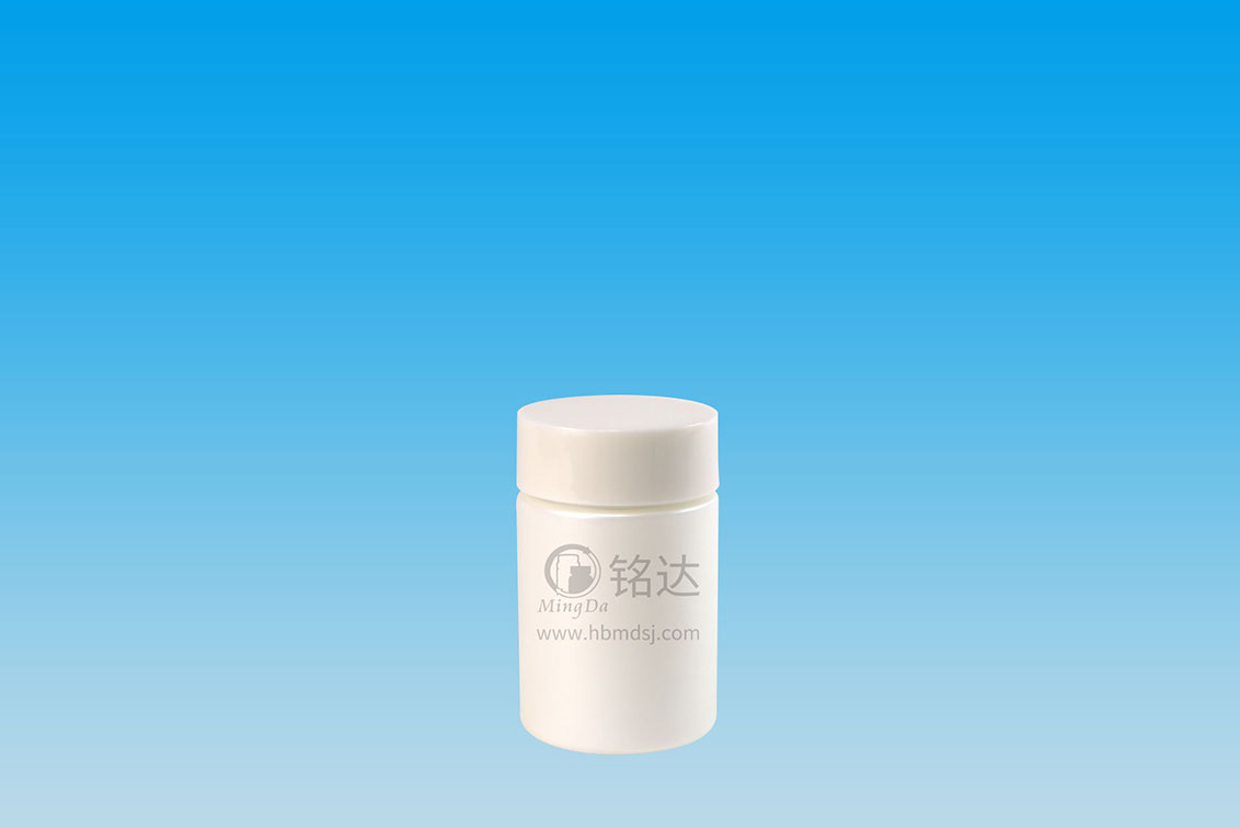 MD-386-HDPE120cc cylindrical bottle