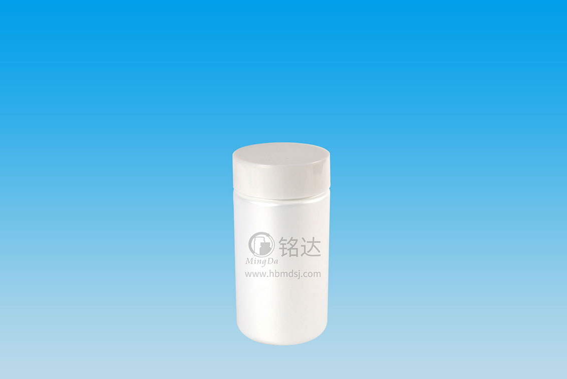 MD-388-HDPE270cc cylindrical bottle