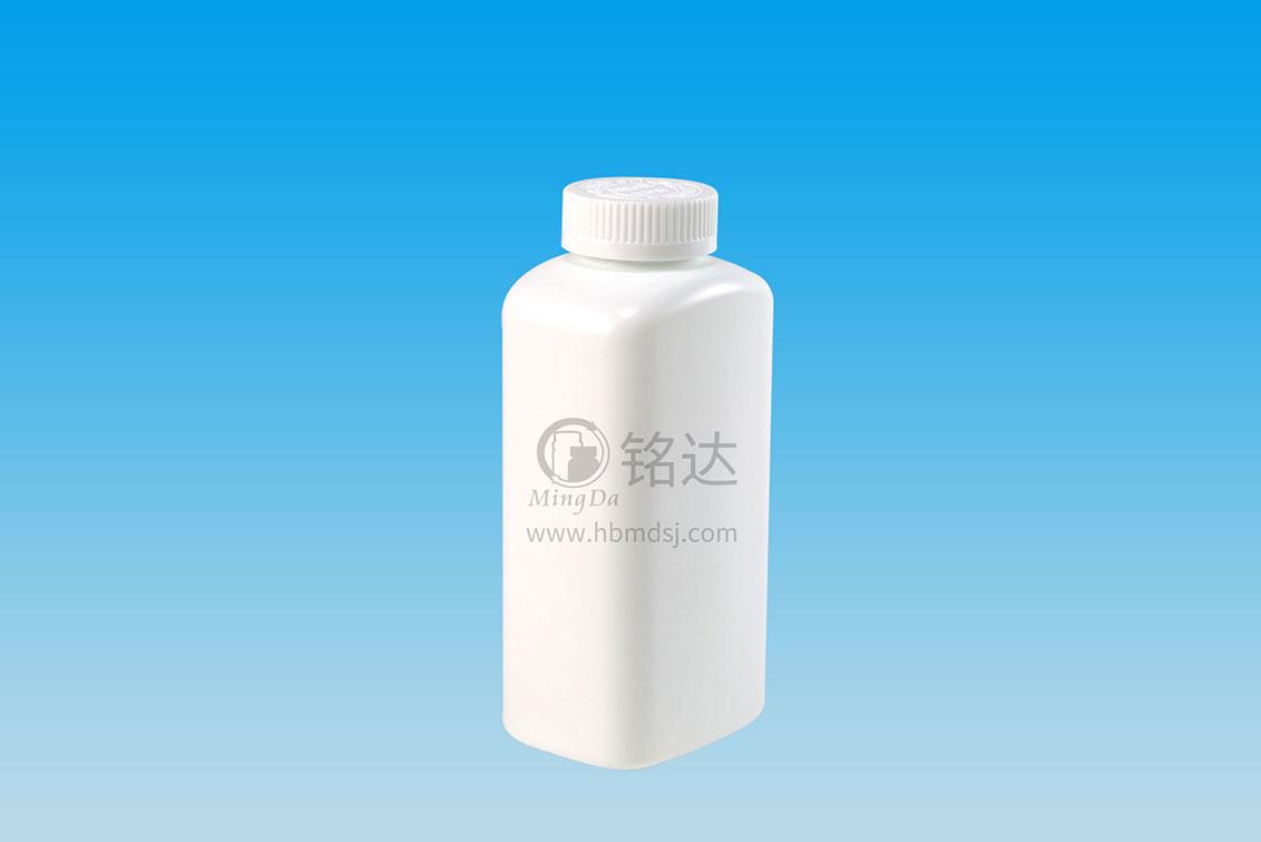 MD-438-HDPE500cc square bottle