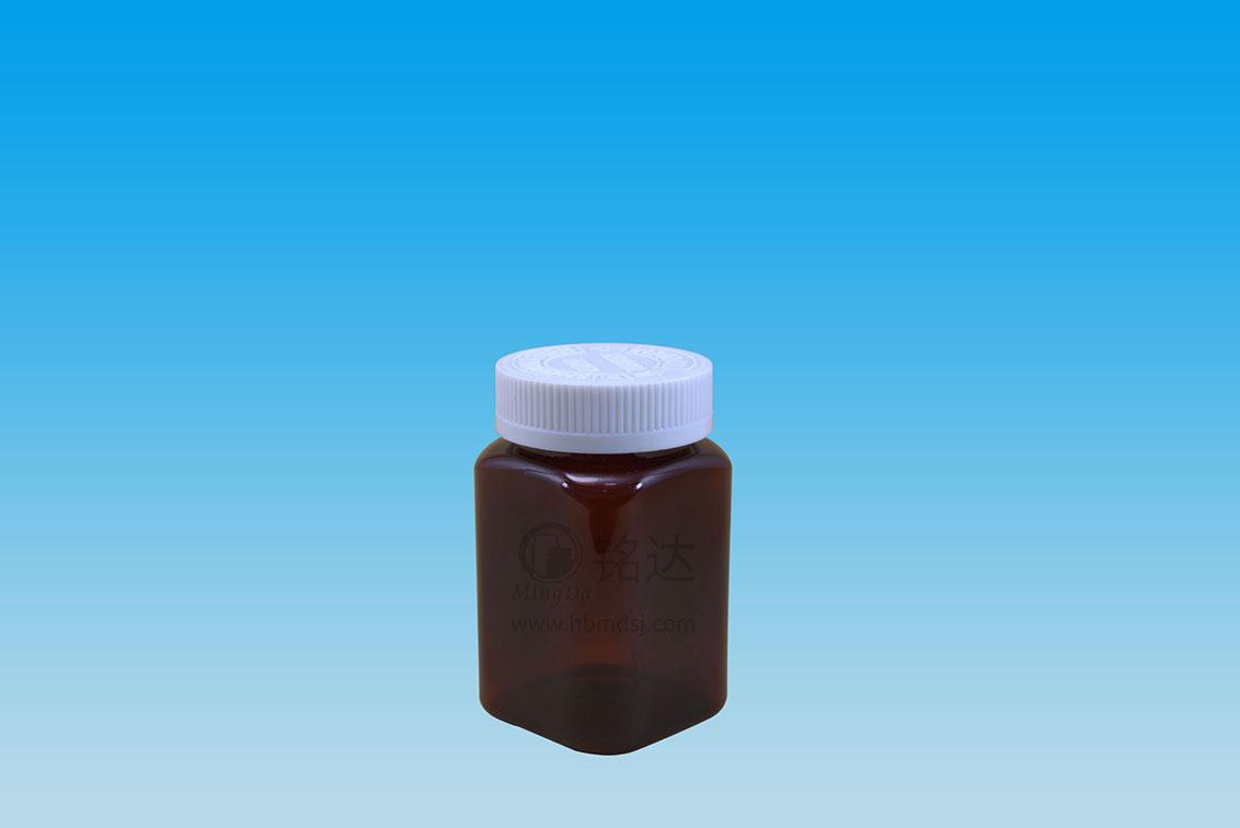 MD-468-PET225cc square bottle
