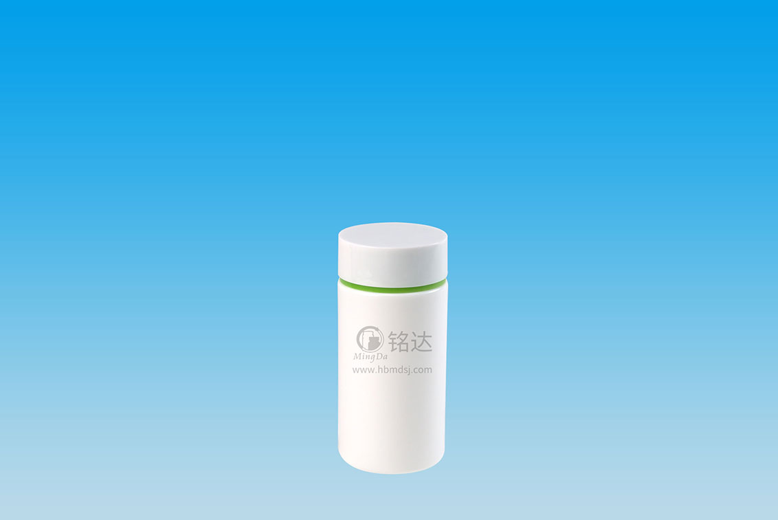 MD-555-HDPE210cc cylindrical bottle