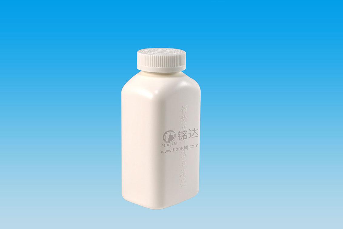 MD-568-HDPE500cc square bottle 2