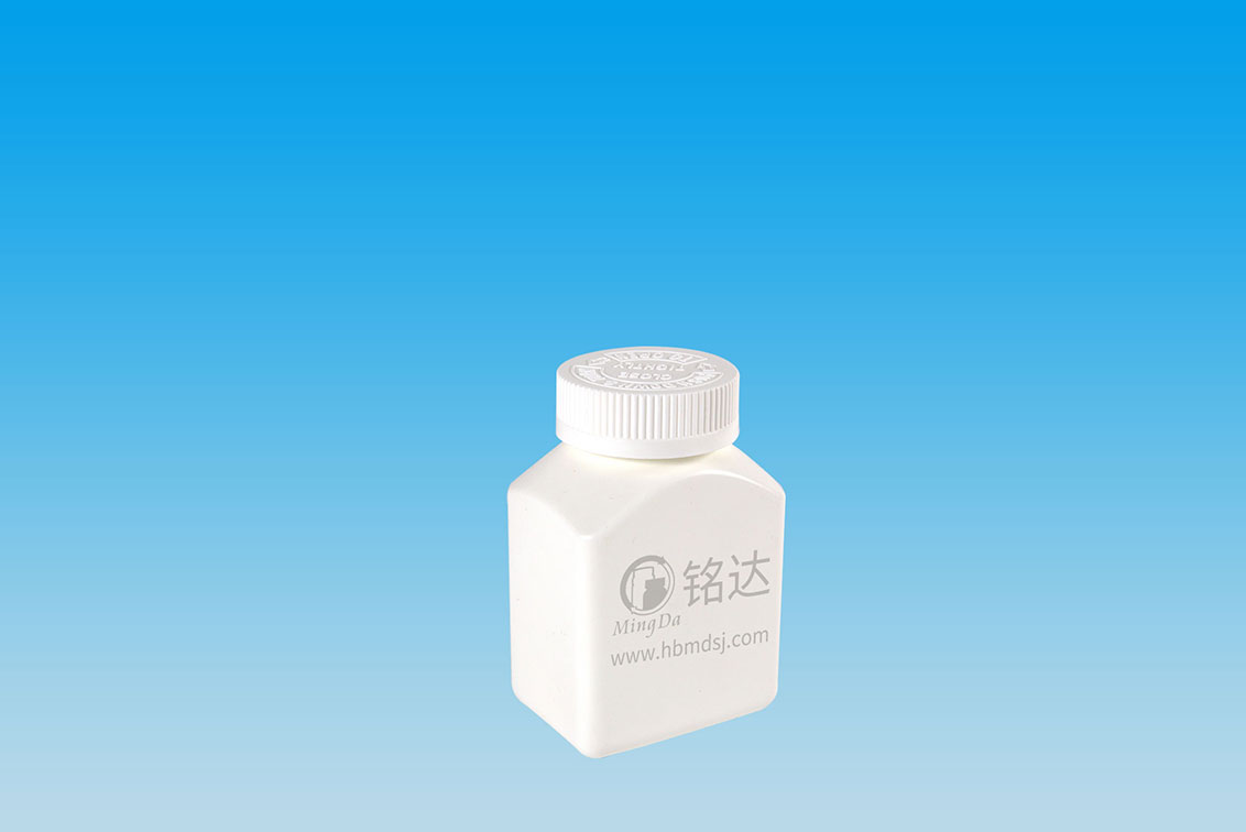 MD-585-HDPE225cc wide square bottle