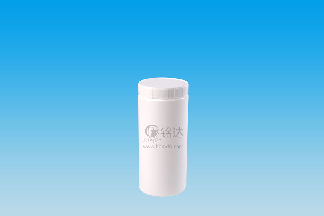 MD-586-HDPE300cc cylindrical bottle