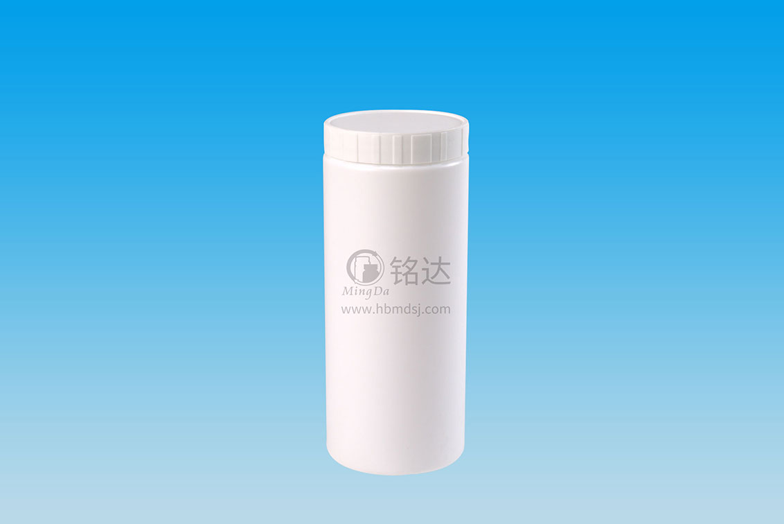 MD-587-HDPE500cc cylindrical bottle