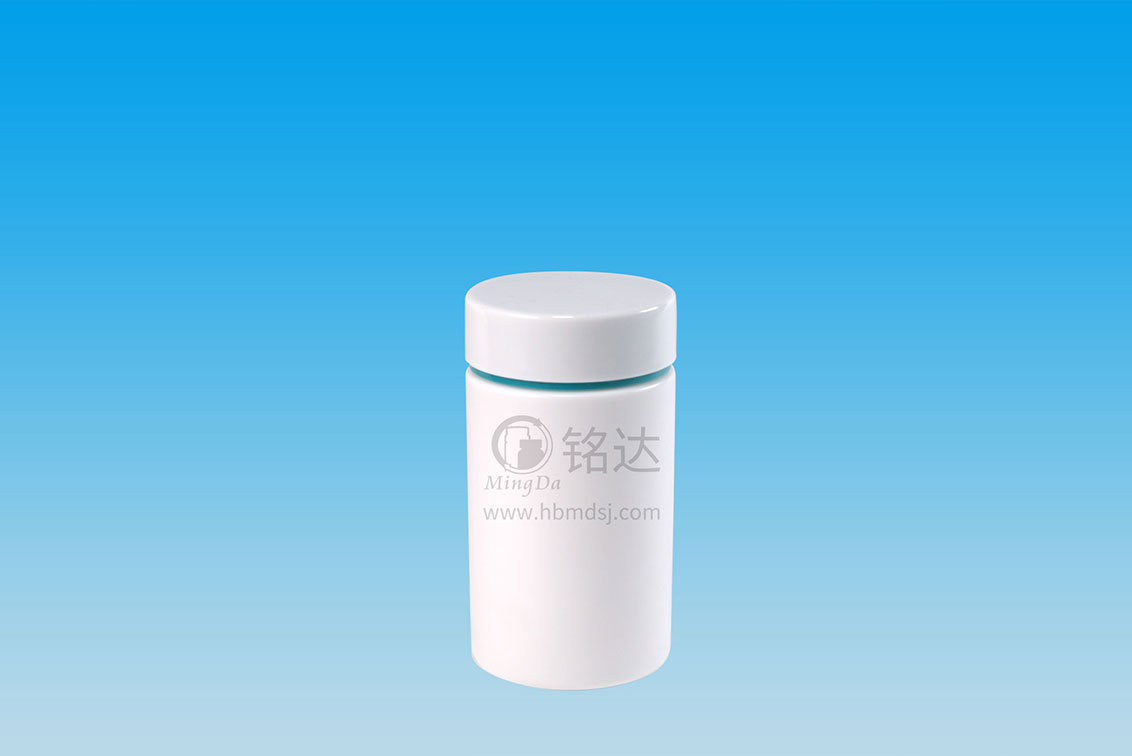 MD-610-HDPE300cc cylindrical bottle
