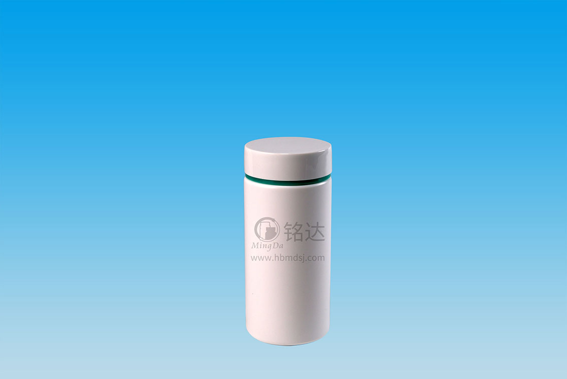MD-753-HDPE300cc cylindrical bottle