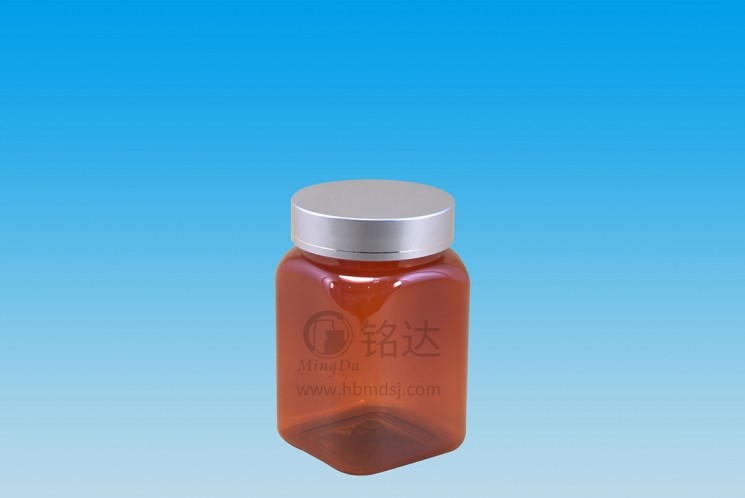 MD-350-PET300cc square bottle