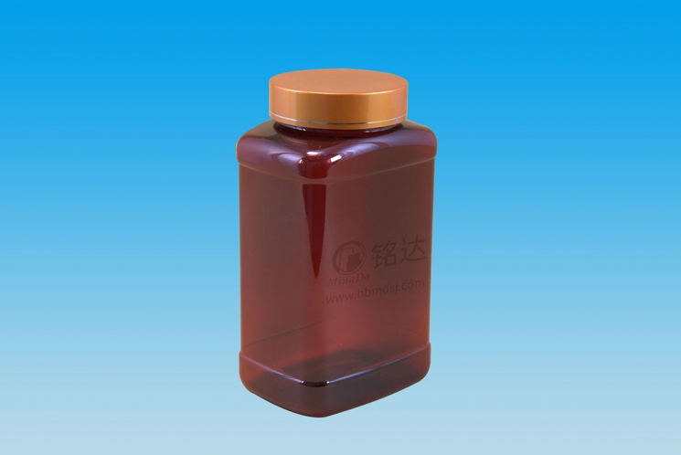 MD-407-PET750cc rectangular bottle
