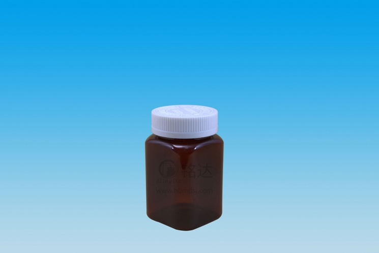 MD-468-PET225cc square bottle