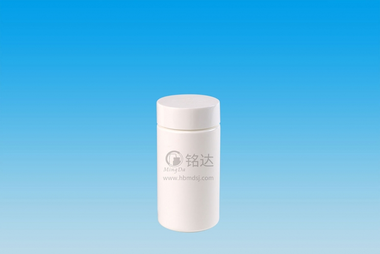 MD-778-HDPE280cc cylindrical bottle