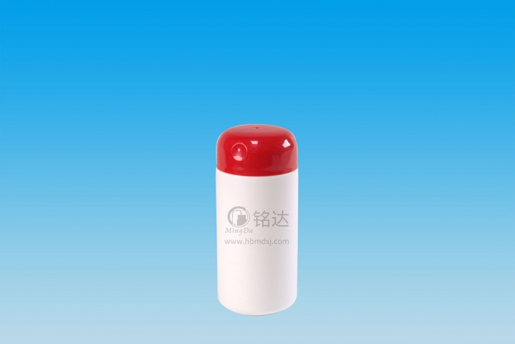 MD-779-HDPE300cc cylindrical bottle